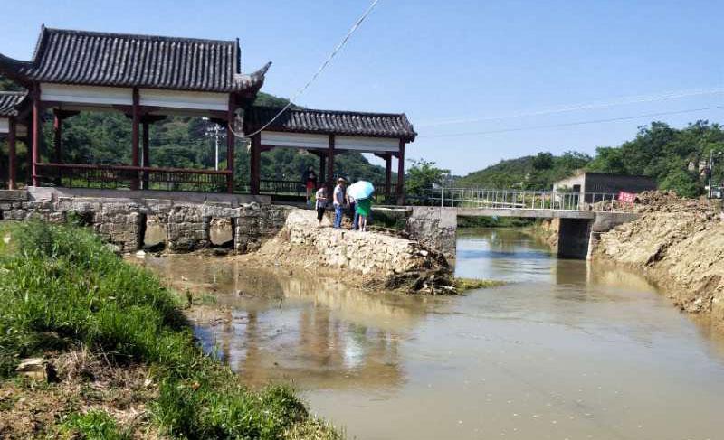 黔西县甘棠镇大寨村蔬菜大棚基地龙潭河河道清淤工程