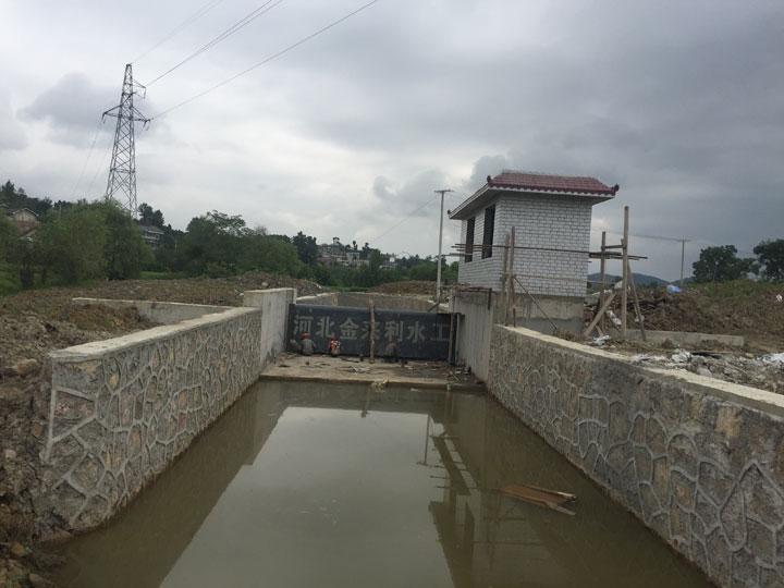 黔西县甘棠镇同心村小山组翻板坝工程
